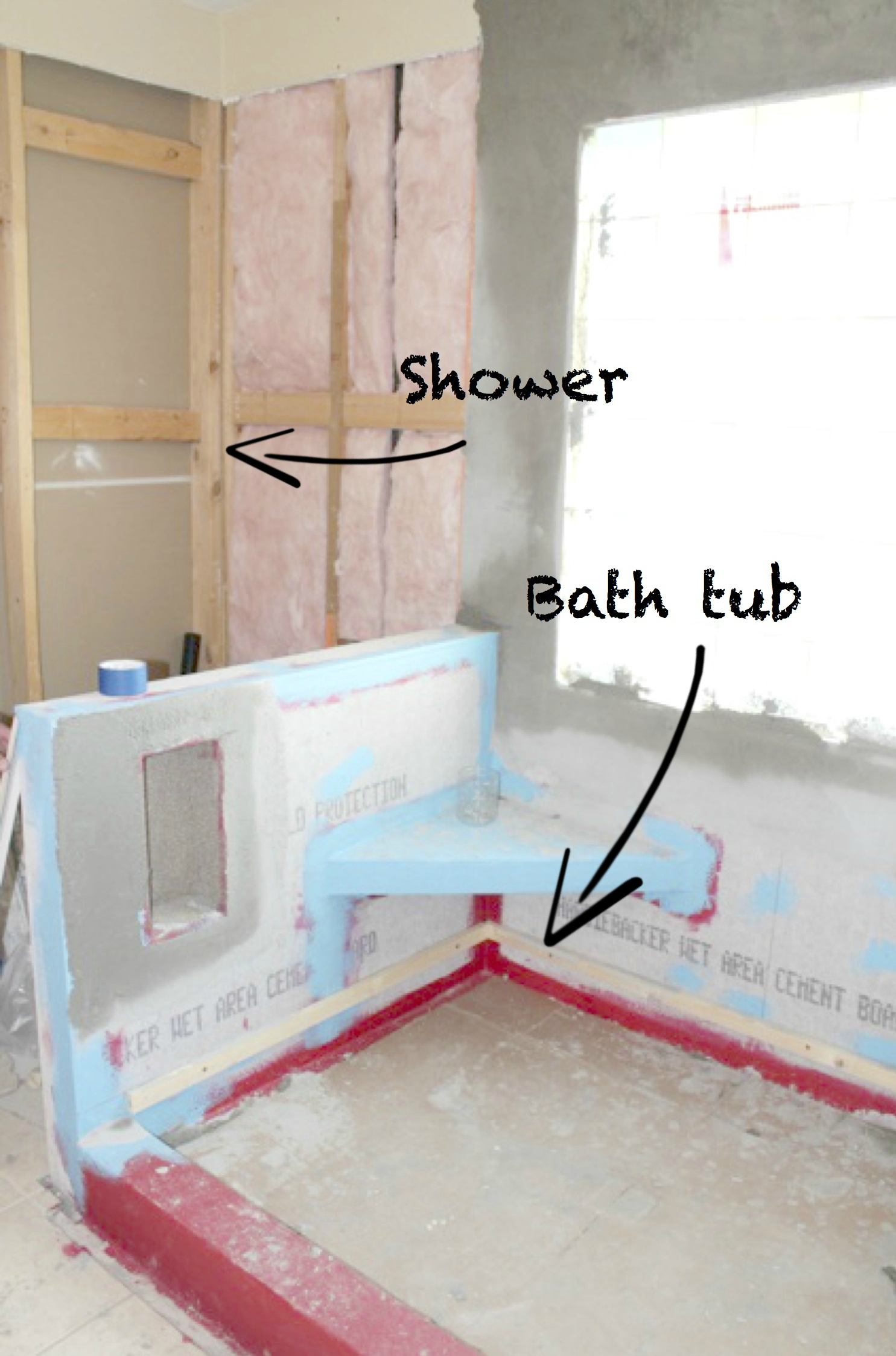 Remodeling Bathroom While Pregnant master bath remodel {part one}. » crew & lu