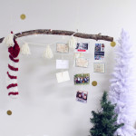 How to display your Christmas cards.